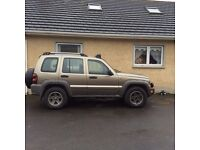 2005 jeep Cherokee for sale 2.8 CRD diesel 109000 miles. 6 speed gear box. jeep in great condition