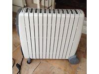 Delonghi Rapido GO11230RTW oil filled radiator