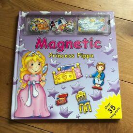 Magnetic Princess Pippa Activity Book By Brenda Apsley (Hardback)