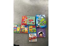 Free Bag of puzzle and books