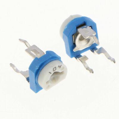 20pcs 100k 104 Adjustable Resistor Trimmer Potentiometer Rm065 - Us Seller