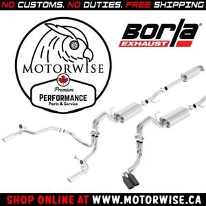 Borla ATAK Catback Exhaust | 2015 to 2018 Ford F-150 | Rear & Side Exit | Shop & Order Online at motorwise.ca