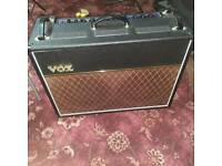 Vox vr amp, cover and foot pedal