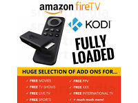 BRAND NEW BOXED - Amazon FireTV Stick with Kodi FULLY LOADED - MOVIES SPORTS TV SHOWS BOX OFFICE