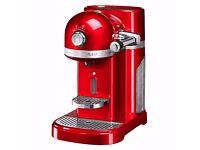 Brand New Nespresso Kitchen Aid Coffee Machine