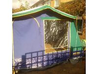 Family Frame tent - sleeps 6 - good condition
