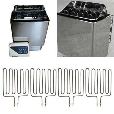 4x Heating Element Sauna Heater Spa Sauna Hot Tubes for SCA 3000W