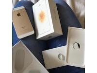 Unlocked IPhone SE Gold