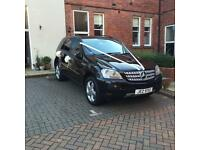 MERCEDES ML 320 sport comes with 12 months MOT poss swap for Golf GTI or like