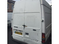 Ford TRANSIT 350 LWB Van 2004 White 1998cc diesel start and go good runner