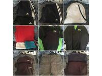 bundle of clothes/footwear