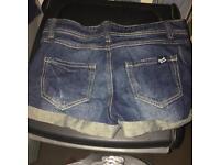 Short shorts summer