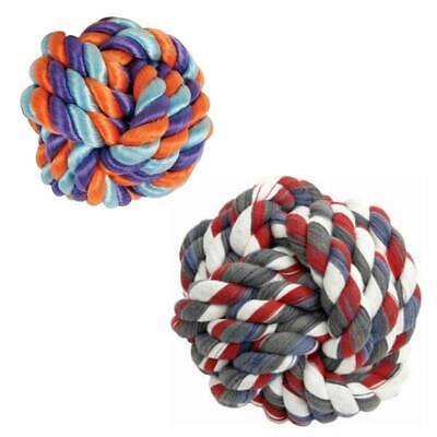 Mammoth Monkey Fist Rope Ball Dog Toy, Assorted Colors Mammoth Monkey Fist Rope
