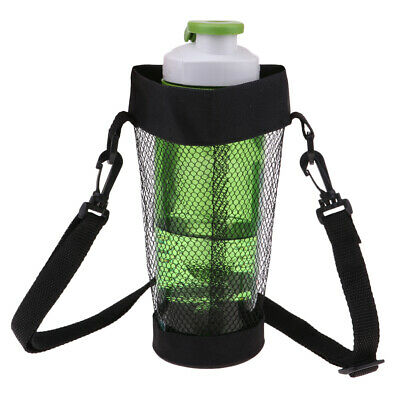 Water Bottle Coffee Cup Holder Sleeve Vacuum Mug Cover Carrier Mesh -