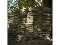"Reclaimed handmade 2"" Cambridge gault bricks"