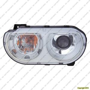 Head Light Passenger Side Xenon Without Bulb High Quality Dodge Challenger 2011-2012