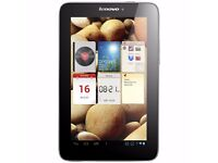 "Manufacturer Refurbished Lenovo IdeaTab Tablet A2107A 7"" Android 1GB 16GB Was: £149.99"