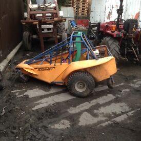 Power steer buggy