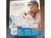 Dr Brown breast pump (manual)