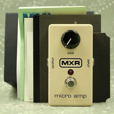 MXR M133 Micro Amp With original box Guitar Boost effect pedal (AB50D024)
