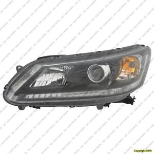 Head Lamp Driver Side Sedan Halogen Ex/Lx/Sport Models/2.4 Liter Ex-L High Quality Honda Accord 2013-2015