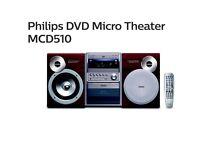 Philips DVD Micro Theater MCD510