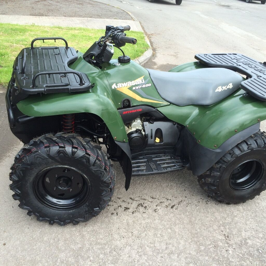 kawasaki kvf 400 4x4 automatic quad bike in bath somerset gumtree. Black Bedroom Furniture Sets. Home Design Ideas