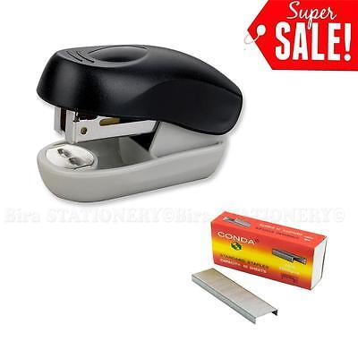 Standard Mini Plastic Stapler With Staples Stapler Remover 8 Sheets Capacity