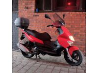 Gilera Runner ST 125cc 2009 Red - LOW MILEAGE - Very clean and tidy