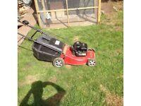 """Lawn King"" Petrol Mower"