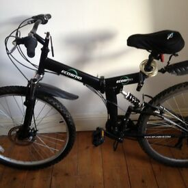 Folding Mountain Bike.