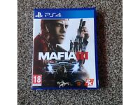 Mafia 3 on PS4 like new