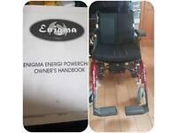 Enigma Energi Powerchair