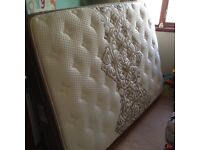 High quality double memory gel mattress - as new