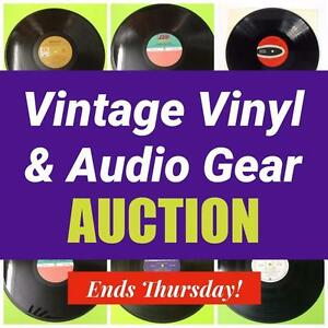 MASSIVE Vinyl Record Collection, Sale of Rare Music Memorabilia, Vintage and Modern! Hundreds of Records, Rock and Roll