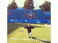 Coach tennis female