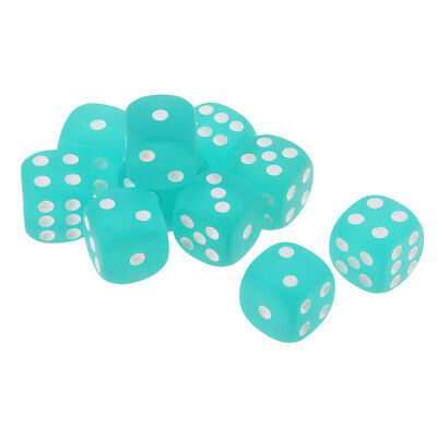 Fun Casino Games For Parties (10x Dices Set 6 Sided for Role Playing Games Party Pub Bar Fun Casino)
