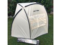 Laz y spa canopy