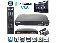 GENUINE OPENBOX V8S WITH 12MONTH FREE GIFT Plug & Play