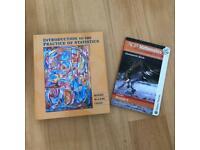 Maths and statistics text books
