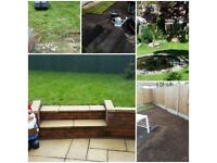 Gardening and driveway cleaning services