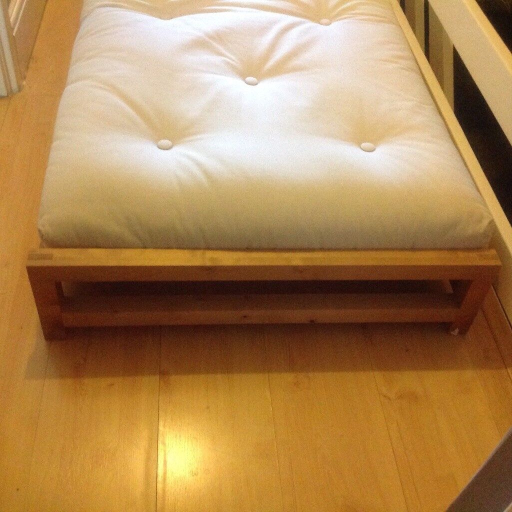 The Futon Company Solid Birch Loop Stacking Bed ( 1 )