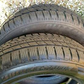 2x Bridgestone 175 65 r15 tyre, almost new