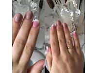 Offering UV gel extensions & gel polish