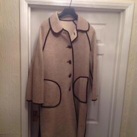 Ladies full length reversible coat 1968 two coats in one