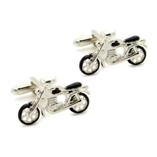 Motorrad Manschettenknöpfe Paar Hochwertig Fahrrad Biker Harley W Taschen Vater