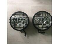 Wipac 4x4 8 inch spotlights