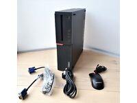 Lenovo ThinkCentre M900 SFF i7 6700 16GB DDR4 250GB SSD Wifi PC Desktop Computer