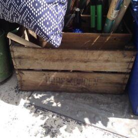 Antique crate