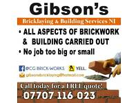GIBSON'S BRICKLAYING & BUILDING